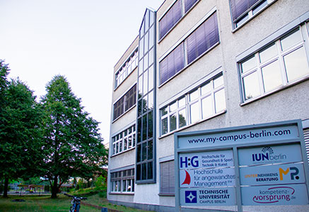 Fassade Campusgebäude Berlin