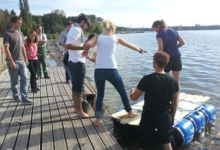 Studenten Exkursion Berlin