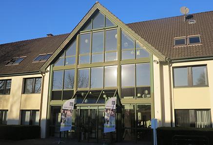 Eingangsbereich Hochschulcampus Unna