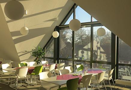Studenten-Lounge Hochschulcampus Unna