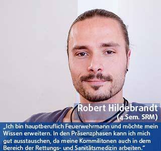 Robert Hildebrandt Student der DHGS