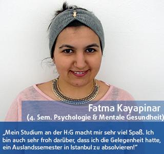 Fatma Kayapinar Studentin DHGS