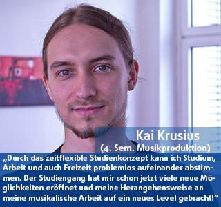Kai Krusius Student der DHGS