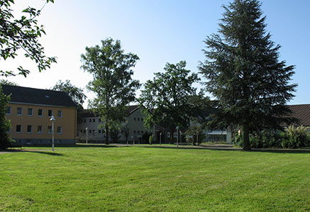 DHGS, Campus Unna, Parkanlage