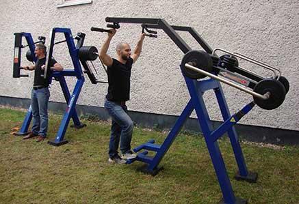 DHGS, Campus Berlin, Sport mit Trainingsgeräten