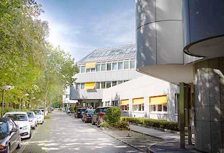 Parkplätze am Campus München DHGS