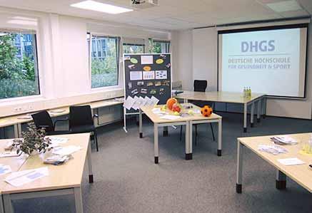 Seminarraum Campus München DHGS