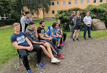 DHGS, Campus Unna, Studentengruppe