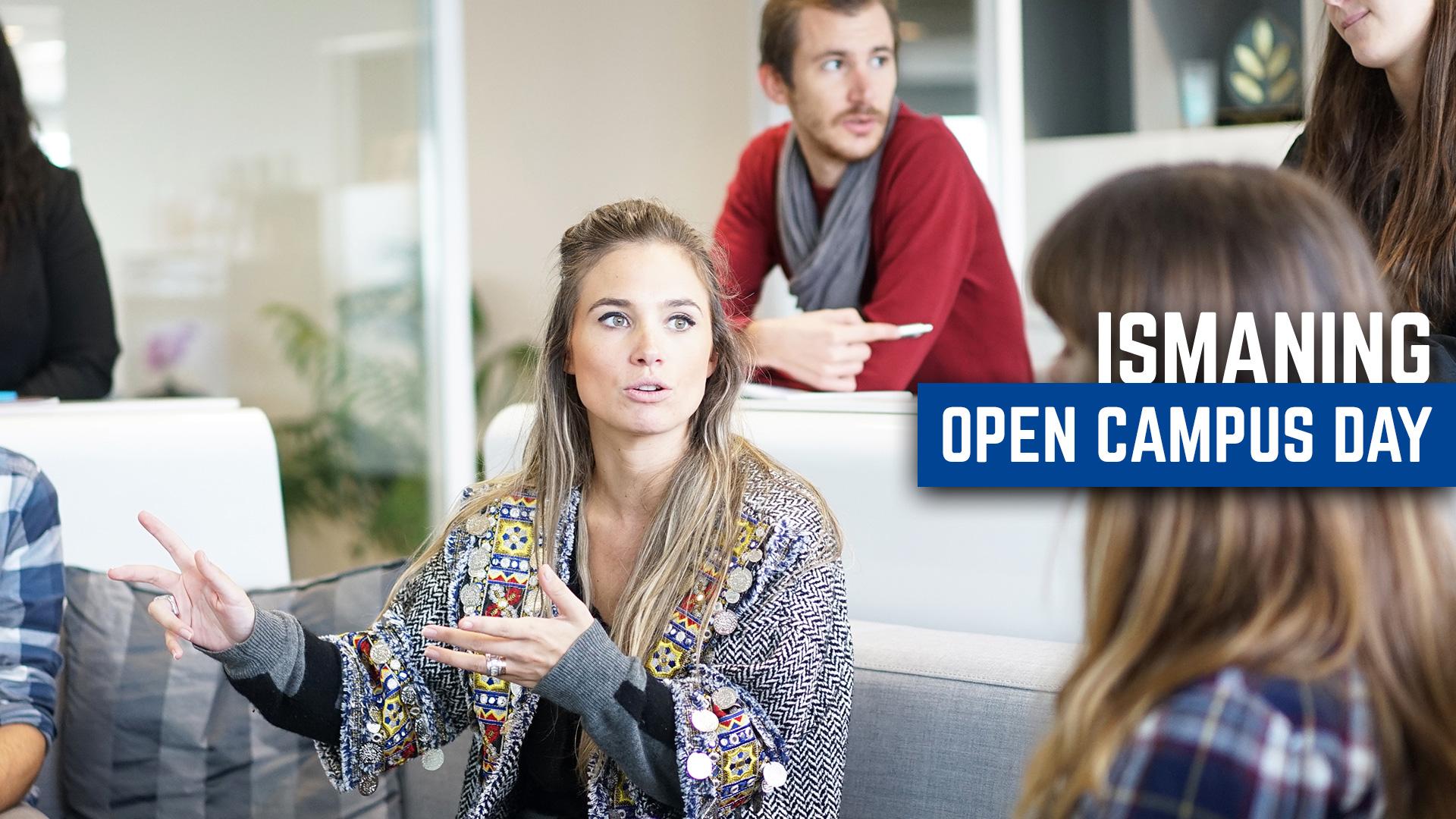 Menschen im Austausch, Einladung zum Open Campus Day in Ismaning.